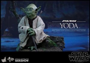 Фигурка Учитель Йодо Hot Toys Звездные войны фотография-02.jpg