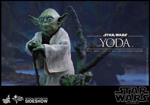 Фигурка Учитель Йодо Hot Toys Звездные войны фотография-03.jpg