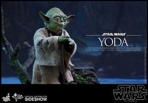 Фигурка Учитель Йодо Hot Toys Звездные войны фотография-04.jpg