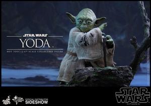 Фигурка Учитель Йодо Hot Toys Звездные войны фотография-05.jpg