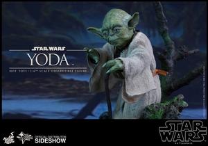 Фигурка Учитель Йодо Hot Toys Звездные войны фотография-06.jpg
