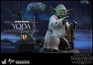 Фигурка Учитель Йодо Hot Toys Звездные войны фотография-07.jpg