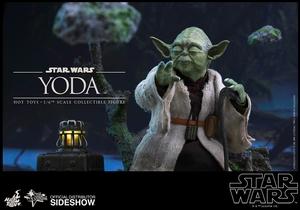 Фигурка Учитель Йодо Hot Toys Звездные войны фотография-08.jpg