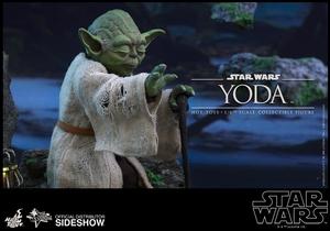 Фигурка Учитель Йодо Hot Toys Звездные войны фотография-09.jpg