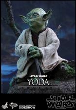 Фигурка Учитель Йодо Hot Toys Звездные войны фотография-10.jpg