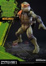 Фигурка из искусственного камня Микеланджело (Черепашки ниндзя) Prime 1 Studio Черепашки ниндзя фотография-02.jpg