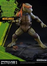 Фигурка из искусственного камня Микеланджело (Черепашки ниндзя) Prime 1 Studio Черепашки ниндзя фотография-03.jpg