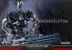 Фигурка Эндоскелет (робот солдат из Терминатора) Hot Toys Терминатор фотография-04.jpg