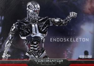 Фигурка Эндоскелет (робот солдат из Терминатора) Hot Toys Терминатор фотография-06.jpg