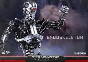 Фигурка Эндоскелет (робот солдат из Терминатора) Hot Toys Терминатор фотография-08.jpg
