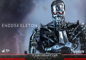 Фигурка Эндоскелет (робот солдат из Терминатора) Hot Toys Терминатор фотография-10.jpg