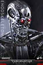 Фигурка Эндоскелет (робот солдат из Терминатора) Hot Toys Терминатор фотография-12.jpg