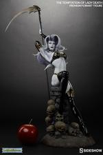 Коллекционная фигурка Искушение леди Смерть Sideshow Collectibles Lady Death фотография-03.jpg