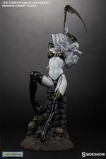Коллекционная фигурка Искушение леди Смерть Sideshow Collectibles Lady Death фотография-04.jpg