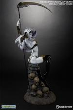 Коллекционная фигурка Искушение леди Смерть Sideshow Collectibles Lady Death фотография-06.jpg