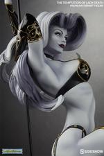 Коллекционная фигурка Искушение леди Смерть Sideshow Collectibles Lady Death фотография-09.jpg