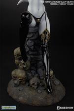 Коллекционная фигурка Искушение леди Смерть Sideshow Collectibles Lady Death фотография-11.jpg