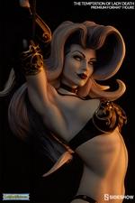 Коллекционная фигурка Искушение леди Смерть Sideshow Collectibles Lady Death фотография-13.jpg