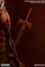 Коллекционная фигурка Искушение леди Смерть Sideshow Collectibles Lady Death фотография-02.jpg