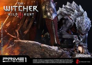 Фигурка из искусственного камня Eredin Prime 1 Studio The Witcher 3: Wild Hunt фотография-19.jpg