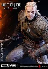 Фигурка из искусственного камня Геральт из Ривии Prime 1 Studio The Witcher 3: Wild Hunt фотография-01.jpg
