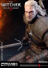 Фигурка из искусственного камня Геральт из Ривии Prime 1 Studio The Witcher 3: Wild Hunt фотография-02.jpg