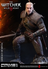 Фигурка из искусственного камня Геральт из Ривии Prime 1 Studio The Witcher 3: Wild Hunt фотография-03.jpg