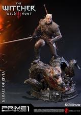 Фигурка из искусственного камня Геральт из Ривии Prime 1 Studio The Witcher 3: Wild Hunt фотография-04.jpg