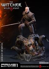 Фигурка из искусственного камня Геральт из Ривии Prime 1 Studio The Witcher 3: Wild Hunt фотография-05.jpg