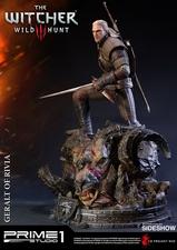 Фигурка из искусственного камня Геральт из Ривии Prime 1 Studio The Witcher 3: Wild Hunt фотография-07.jpg