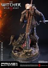 Фигурка из искусственного камня Геральт из Ривии Prime 1 Studio The Witcher 3: Wild Hunt фотография-08.jpg
