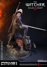 Фигурка из искусственного камня Геральт из Ривии Prime 1 Studio The Witcher 3: Wild Hunt фотография-10.jpg