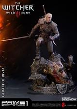 Фигурка из искусственного камня Геральт из Ривии Prime 1 Studio The Witcher 3: Wild Hunt фотография-11.jpg