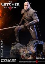 Фигурка из искусственного камня Геральт из Ривии Prime 1 Studio The Witcher 3: Wild Hunt фотография-12.jpg
