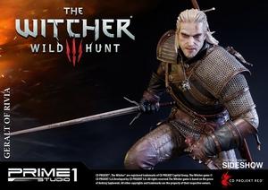Фигурка из искусственного камня Геральт из Ривии Prime 1 Studio The Witcher 3: Wild Hunt фотография-13.jpg