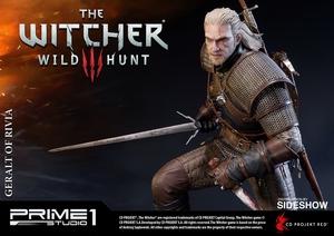 Фигурка из искусственного камня Геральт из Ривии Prime 1 Studio The Witcher 3: Wild Hunt фотография-14.jpg