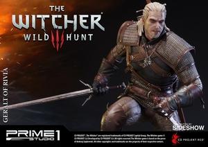 Фигурка из искусственного камня Геральт из Ривии Prime 1 Studio The Witcher 3: Wild Hunt фотография-15.jpg