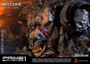 Фигурка из искусственного камня Геральт из Ривии Prime 1 Studio The Witcher 3: Wild Hunt фотография-16.jpg