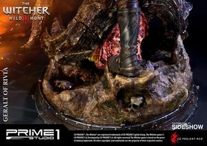 Фигурка из искусственного камня Геральт из Ривии Prime 1 Studio The Witcher 3: Wild Hunt фотография-17.jpg