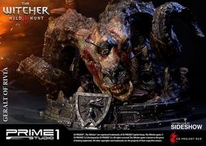 Фигурка из искусственного камня Геральт из Ривии Prime 1 Studio The Witcher 3: Wild Hunt фотография-18.jpg