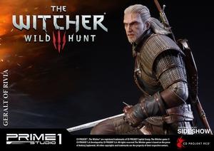 Фигурка из искусственного камня Геральт из Ривии Prime 1 Studio The Witcher 3: Wild Hunt фотография-20.jpg