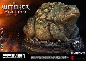 Статуэтка Жаба Принц Оксенфуртский Prime 1 Studio The Witcher 3: Wild Hunt фотография-10.jpg
