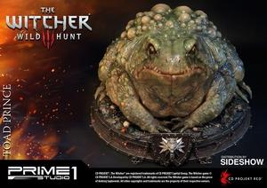 Статуэтка Жаба Принц Оксенфуртский Prime 1 Studio The Witcher 3: Wild Hunt фотография-12.jpg