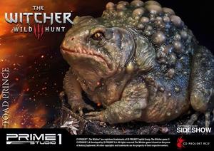Статуэтка Жаба Принц Оксенфуртский Prime 1 Studio The Witcher 3: Wild Hunt фотография-13.jpg