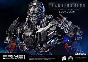 Фигурка из искусственного камня Lockdown Prime 1 Studio Трансформеры фотография-02.jpg
