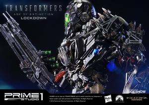 Фигурка из искусственного камня Lockdown Prime 1 Studio Трансформеры фотография-04.jpg