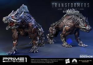 Фигурка из искусственного камня Стальной чехол Prime 1 Studio Трансформеры фотография-01.jpg