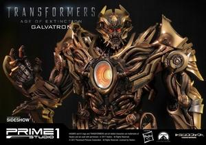 Статуэтка Золотая версия Galvatron (Трансформеры) Prime 1 Studio Трансформеры фотография-01.jpg