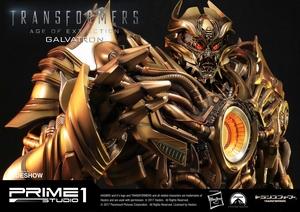 Статуэтка Золотая версия Galvatron (Трансформеры) Prime 1 Studio Трансформеры фотография-03.jpg