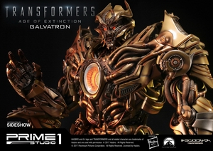 Статуэтка Золотая версия Galvatron (Трансформеры) Prime 1 Studio Трансформеры фотография-04.jpg